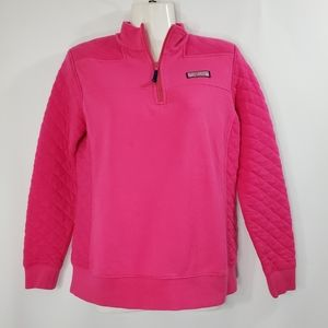 Small Quilted Vineyard Vines Relaxed Shep Top
